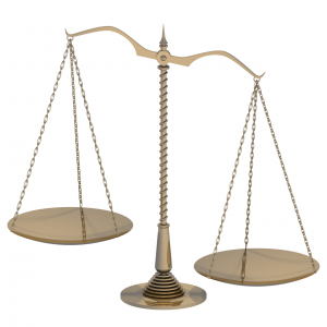 Lopsided Scale of Justice