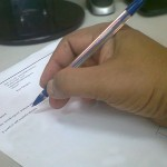 Signing Oil And Gas Lease